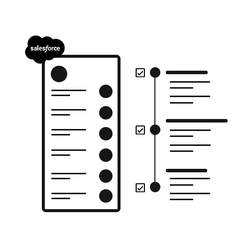 SalesForce Wireframe
